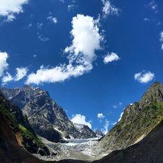 Tchalaadi glacier, Svaneti, Georgia