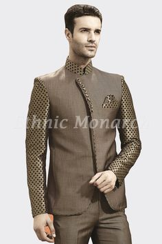 Ethnic Monarch is the best online store for traditional kids dresses and mens wedding clothes. We specialized in Ethnic wear like Breeches, Jodhpuri suits, sherwani,and tuxedos. African Attire For Men, African Men Fashion, Mens Tailored Suits, Mens Suits, Mens Fashion Suits, Fashion Wear, Mens Shirt Pattern, Wedding Dresses Men Indian, Western Suits