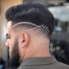 Ideas For Haircut Men Pompadour Shaved Sides Trendy Mens Haircuts, Girl Haircuts, Hairstyles Haircuts, Boys Haircut Styles, Fade Haircut, Haircut Men, Haircut Short, Shaved Side Haircut, Pompadour Men