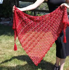 Crochet Lace Scarf, One Skein Crochet, Crochet Shawl Free, Crochet Shawls And Wraps, Crochet Flower Patterns, Basic Crochet Stitches, Crochet Basics, Crochet Scarves, Crochet Clothes