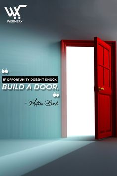 Recognize your opportunity and start building your dream. Hustle and make your dreams come true. At Webmerx, we help entrepreneurs to build their dream by developing an ecommerce store for them. If you are looking to start an online store then contact us! Building A Door, Ecommerce Store, Ecommerce Solutions, Dream Come True, Knock Knock, Hustle, Dreaming Of You, Opportunity, Dreams