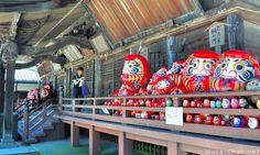 Shorinzan Daruma Temple in Takasaki - Hundreds of Daruma Dolls Daruma Doll, Gunma, Buddhist Monk, Okinawa, The Places Youll Go, Temple, Japanese, Dolls, Buddha