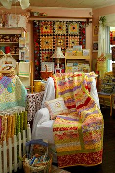 Plain and Simple Quilt Shop is creating a community of quilters in Apex, North, Carolina. They also offer small classes to learn how to quilt.