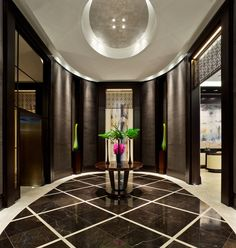 The Residences at The Ritz-Carlton, Toronto. Interior design by Studio Munge.