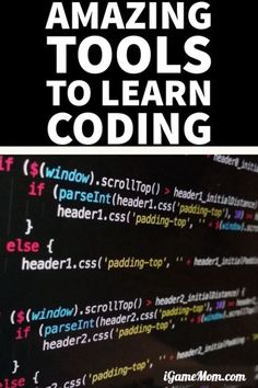 Coding for Kids: learn computer coding at your own pace with best programming learning tools and lesson plans for kids with fun coding activities -- no matter kids CS level, from beginners knowing nothing about coding, to advanced already writing programs. App, online course, some are even free | STEM | Hour of Code #CodingForKids #STEMforKids #iGameMomSTEM