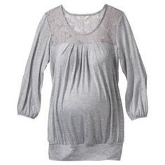t2 maternity shirt, lace detailing
