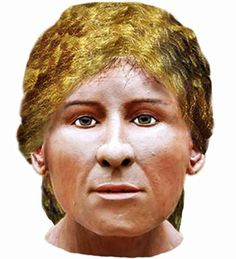 """Facial reconstruction shows what """"Mrs Getty"""", a high-status young Anglo-Saxon woman, would have looked like"""