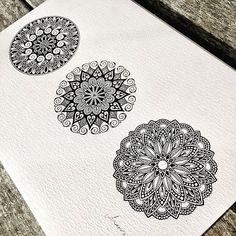 Mandala Zentangle Doodles