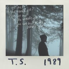 taylor swift single 1989 Out Of The Woods Taylor Swift Single, Taylor Swift Speak Now, Taylor Swift Album, Taylor Swift Quotes, Taylor Alison Swift, Taylor Lyrics, Live Taylor, Out Of The Woods, Going Insane