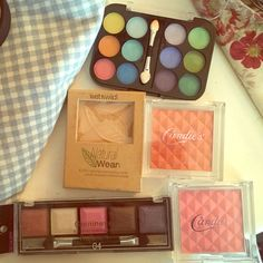 Brand New makeup set bundle $110 VALUE!! includes 11 products all brand new and unused. $110 value! Perfect for girls and teen gifts or just to add to your collection. Makeup includes brands such as Candie's, Claires, and WetnWild. Includes everything pictured Claire's Makeup