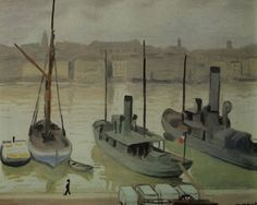 Albert Marquet (French, 1875-1947) - Marseille, N/D