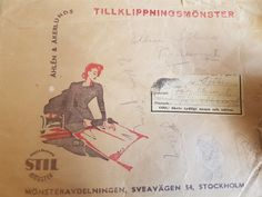 STIL-mönster kavaj symönster 30/40-tal - vintage retro lindy rockabilly Swedish Sewing, Rockabilly, Vintage Sewing Patterns, Stockholm, Retro Vintage, Rock Style