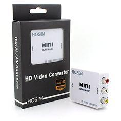 Hosim HDMI to AV Composite Converter/RCA/Adapter for TV PS3 PS4 VHS VCR DVD Hosim http://www.amazon.com/dp/B00MSR3IH0/ref=cm_sw_r_pi_dp_9.TYub1BHS680