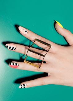 Post Modern NCLA nail wraps