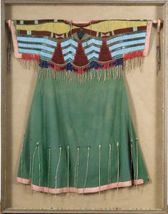 Shoshone Beadwork  ~ images.worthpoint.com http://pinterest.com/redddogg1/dad-s-folks/