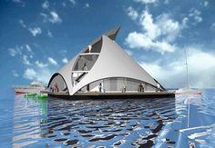 Casa, flotable copada para tus vacaciones! Super! Dubai, Opera House, Asia, Country, Building, Travel, Amazing, Luxury Houses, Home Decorations