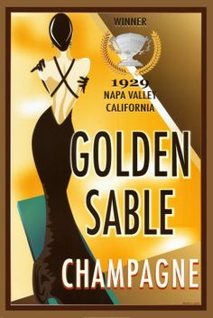 Golden Sable Champagne