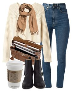 """""""Untitled #5197"""" by laurenmboot ❤ liked on Polyvore featuring Yves Saint Laurent, Monki, Mulberry, Acne Studios and H&M"""