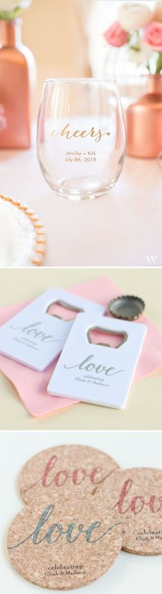 Personalized Wedding Favors Your Guests Will Love #weddingfavors