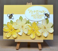 Hello, Crafters.   What a  beautiful Spring weekend this has turned out to be!   I think that the card made in today's video epitomises  ev...