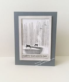 Sunny's Craft: Happy Father's Day! Mother And Father, Mothers, Seize The Days, Stampin Up Catalog, Masculine Cards, Stamping Up, Creative Cards, Happy Fathers Day, Stampin Up Cards
