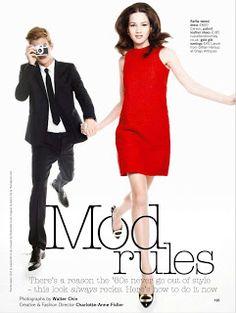Mod Rules for Glamour UK via Ahoy Hoy