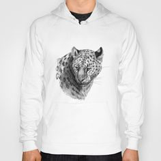 Leopard SK0101 Hoody by S-Schukina - $38.00