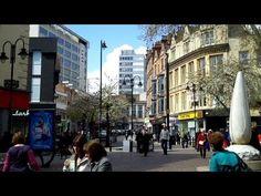 NOTTINGHAM 2012 04 17, England: City centre, Rutland Square, the Council House, Hotel Britania, by AirCityTour