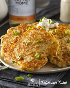 This Sutter Home Kitchen recipe for Colcannon Cakes is down-home comfort food. What's even more comforting is just how well it pairs with a glass of delicious Sutter Home Moscato or a brunch-time Bubbly Brut Mimosa. Discover more at SutterHome.com.