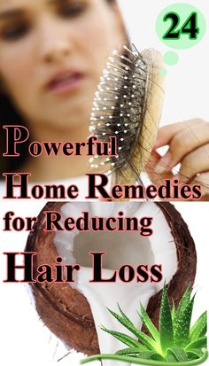 Here are 24 natural home remedies for reducing hair loss and promoting hair growth. Home Remedies For Hair, Hair Loss Remedies, Natural Hair Care, Natural Hair Styles, Healthy Hair Tips, Hair Loss Treatment, Hair Treatments, Hair Affair, Prevent Hair Loss