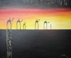 Egyptian art by Lanie Wilton Egyptian Art, Landscape Photos, New Zealand, Paintings, Artist, Egypt Art, Paint, Painting Art, Artists