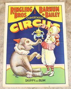 Ringling Bros. Barnum & Bailey Circus Poster : Lot 467