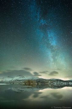 I can't wait to one day hike out to somewhere and take night photos like this. Love starry night wilderness shots!  Tommy Eliassen Photography