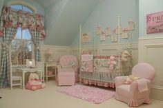 Sweet baby girl room.