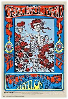 """The GRATEFUL DEAD 1969 Concert Poster Avalon Ballroom $8.00  • 100% Mint unused condition • Well discounted price + we combine shipping • Click on image for awesome view • Poster is 12"""" x 18"""" • Semi-Gloss Finish • Great Music Collectible - superb copy of original • Usually ships within 72 hours or less with tracking. • Satisfaction guaranteed or your money back.Go to: Sportsworldwest.com"""