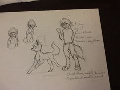 This is Kit, a new genderless OC of mine. They are deaf and mute (no, I did not steal Dth's idea, I've had this idea for a long time). They're a kitsune (based on Japanese lore, though appearance is based on normal foxes), aromantic asexual, very shy, social anxiety like woah, but can be quite curious in fox form. I like to think of Kit as Vysio's adoptive sibling. Ask the, questions!