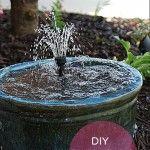 How To Make A DIY Recirculating Fountain
