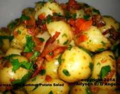 This is my version of a great classic!  It's delicious! http://www.bellaonline.com/articles/art30223.asp #germanrecipes #potatosalad