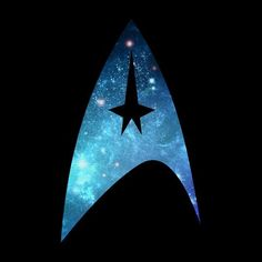 Star Trek Galaxy Silhouette Star Fleet Logo
