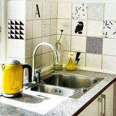 Mer fra Tile junkie  Du får ikke fornyet hjemmet enklere, billigere,  og samtidig så fint som dette. #Tile #tilejunkie #design #fliser #kjøkken #diys #dansk #danskdesign #innkjøp #interiør #interior #inspirasjon #inspiration #nettbutikk