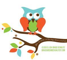 Custom Name Baby Owl Nursery Print 8x10 Weight by grassgreendesign, $25.00