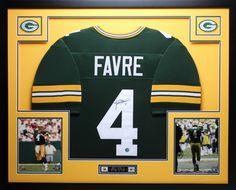 c63973d9b Brett Favre Signed Packers 35