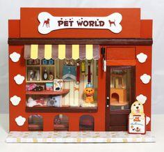 Find More Model Building Kits Information about DIY dollhouse Pet Paradise Mini…