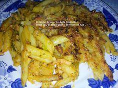 En la cocina con Ana : Dieta PP -SP : Pasta con brócoli y pavo -pollo