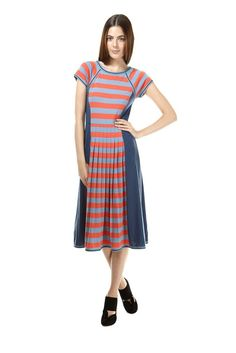 Skeeter Striped Jersey Dress - Marc by Marc Jacobs - Shop marcjacobs.com - Marc Jacobs
