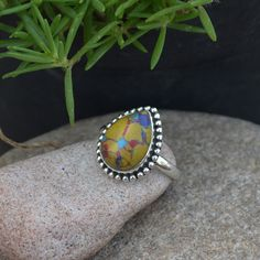 Hey, I found this really awesome Etsy listing at https://www.etsy.com/listing/253006290/mosaic-turquoise-ring-turquoise-ring