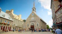 Canada small churches | Church Notre-Dame-des-Victoires - Quebec - Tourism Media