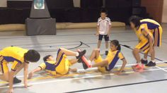 Physical Education Instant Activities for Upper body strength Pe Activities, Team Building Activities, Activity Games, Leadership Activities, Physical Activities, Physical Education Middle School, Physical Education Games, Health Education, Kindergarten Games