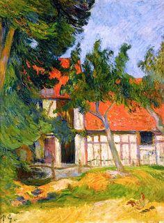 Stable near Dieppe, 1885 - Paul Gauguin ▓█▓▒░▒▓█▓▒░▒▓█▓▒░▒▓█▓ Gᴀʙʏ﹣Fᴇ́ᴇʀɪᴇ ﹕☞ http://www.alittlemarket.com/boutique/gaby_feerie-132444.html ══════════════════════ ♥ #bijouxcreatrice ☞ https://fr.pinterest.com/JeanfbJf/P00-les-bijoux-en-tableau/ ▓█▓▒░▒▓█▓▒░▒▓█▓▒░▒▓█▓