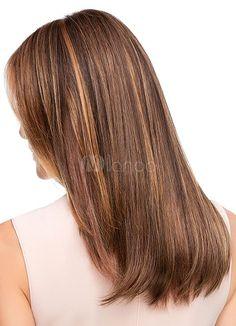 Jon Renau Wigs Top Style 18 in - Modern Carmel Blonde Highlights, Strawberry Blonde Highlights, Natural Hair Growth, Natural Hair Styles, Long Hair Styles, Natural Ash Blonde, Carmel Hair, Blonde Tips, Jon Renau